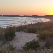 Sunset at Warrnambool Christmas Eve