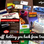 Is stuff holding you back from travelling notgreynomads.com #travel #planning