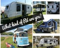 What kind of RV are you? How to choose a Caravan or Camper that suits your travelling style. Notgreynomads.com